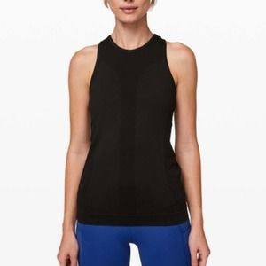 VERY RARE Lululemon For The Chill Of It Black Tank